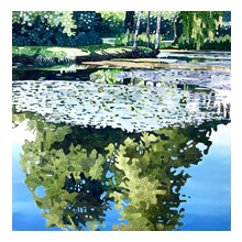 Ewa Adams, Summer Pond